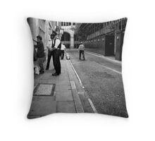 Stop & Search Throw Pillow