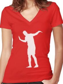 Sturridge Dance Women's Fitted V-Neck T-Shirt