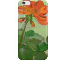 An Orange Geranium iPhone Case/Skin