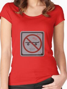 Skate Face Women's Fitted Scoop T-Shirt