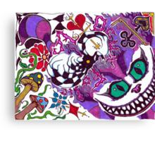 Folie A Duex  Canvas Print