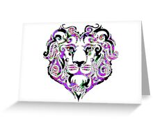 Only the LionHearted Greeting Card
