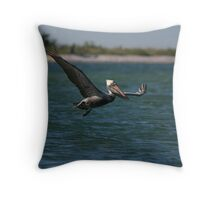 Flying In Throw Pillow