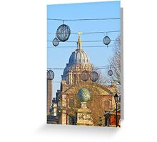 Magical Scene In Greenwich Greeting Card