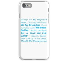 Multi Fandom Anthem iPhone Case/Skin