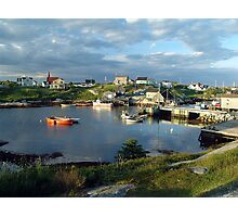 Peggy's Cove evening Photographic Print