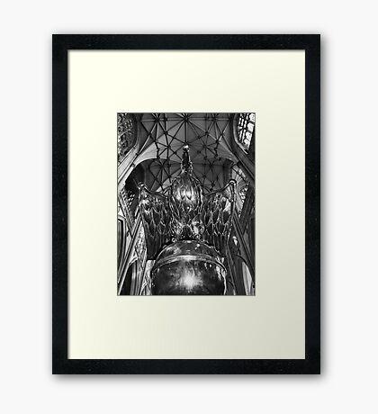 The Lectern in York Minster Framed Print