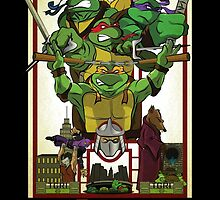 Enter the Turtles by Aaron Morales