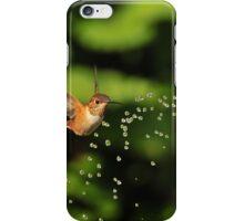 TINY BUBBLES SERIES...Rufous Hummingbirds iPhone Case/Skin