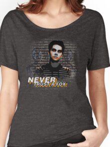Never Trust A Fox Women's Relaxed Fit T-Shirt