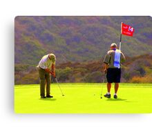 Forteenth Hole at Torrey Pines U.S. Open Canvas Print
