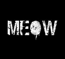 Meow grunge white by Greven
