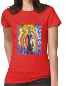 Our Lady of Rocamadour_Love Prevails Womens Fitted T-Shirt