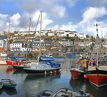 Mevagissey Harbour by cwwphotography