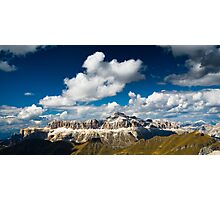 sella and sky Photographic Print