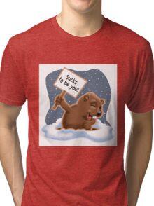 Punxy Phil Tri-blend T-Shirt
