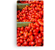 Tomate Canvas Print