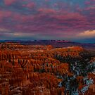 Sunset Over Bryce Canyon by photosbyflood
