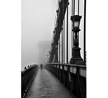 Chain Bridge Photographic Print