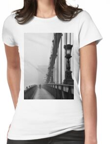 Chain Bridge Womens Fitted T-Shirt