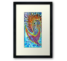 Cosmic Christ Framed Print