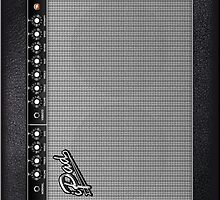 Guitar Amplifier iPad Case (Fender style) by Alisdair Binning