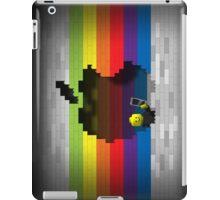 Rainbow Blocks Retro Apple Logo iPad Case iPad Case/Skin