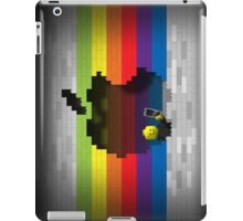 Rainbow Blocks Retro Apple Logo iPad Case iPad Case/Skin