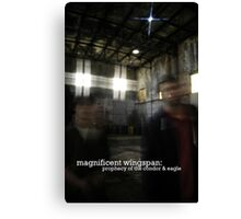 Magnificent Wingspan Prophecy Gear Canvas Print