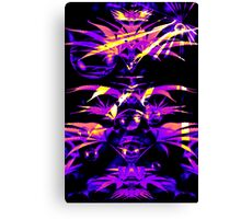 Purple Fazed  Canvas Print