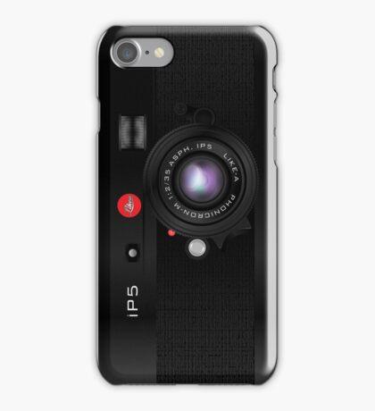 Like-a-Leica Camera (Black) iPhone Case iPhone Case/Skin