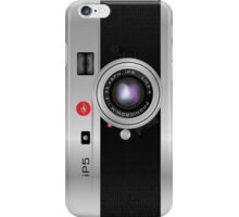 Like-a-Leica Camera (Silver) iPhone Case iPhone Case/Skin