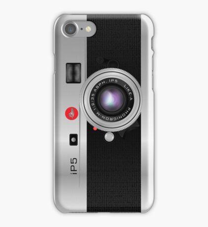 Like-a-Leica Camera (Silver) iPhone Case iPhone Case/Skin