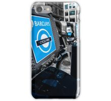 Boris Bike London Spitalfields iPhone Case/Skin