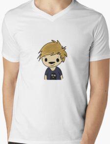 Penguin Luke Mens V-Neck T-Shirt