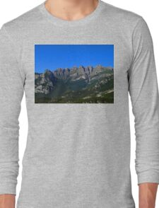 Italian Mountains Long Sleeve T-Shirt