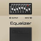 Boss Equalizer Pedal iPhone Case by Alisdair Binning
