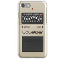Boss Equalizer Pedal iPhone Case iPhone Case/Skin
