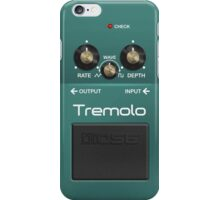 Boss Tremolo Pedal iPhone Case iPhone Case/Skin