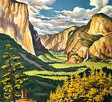 Yosemite by Vintagee