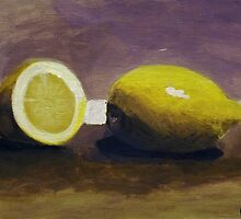 Lemons by Andypainting