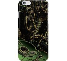 abstract sax keywork iPhone Case/Skin