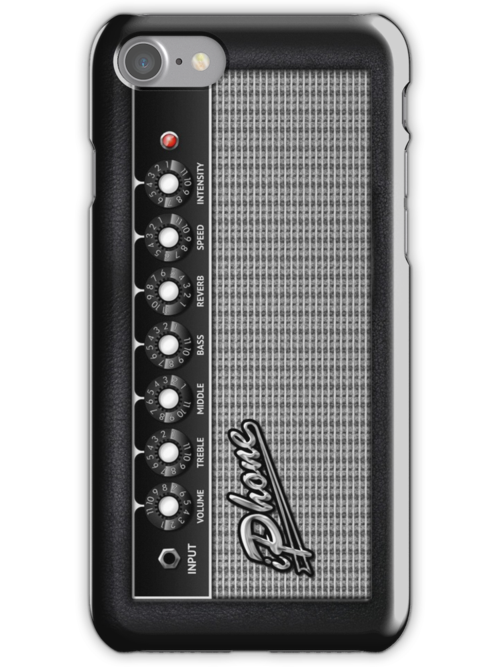 Guitar Amplifier iPhone Case (Fender style) by abinning