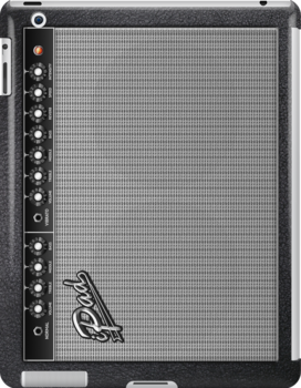 Guitar Amplifier iPhone Case (Fender style) by Alisdair Binning