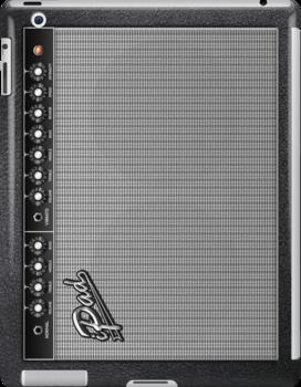 Guitar Amplifier iPhone Case (Fender style) by Alisdair Binning