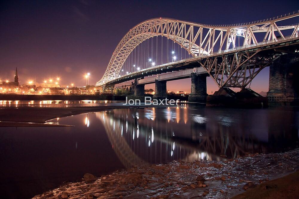 The silver jubilee bridge  by Jon Baxter