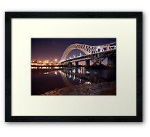 The silver jubilee bridge  Framed Print