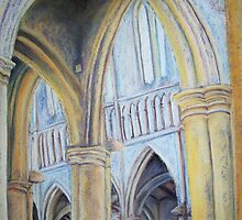 cathedral soft pastel by rateotu