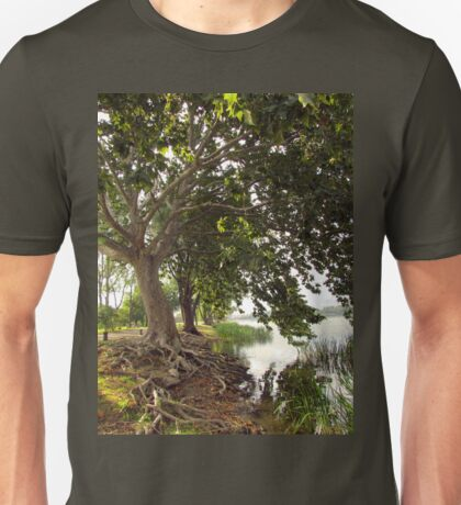 Lake Trees Unisex T-Shirt