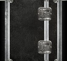 Flightcase (Black) iPad Case by Alisdair Binning